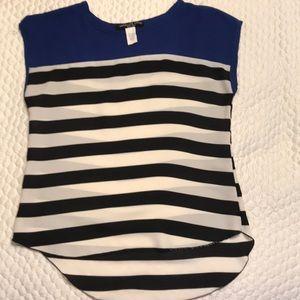 2/$12 Absolute Angel Short sleeve blouse